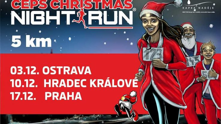 Christmas Night Run 2016 Ostrava
