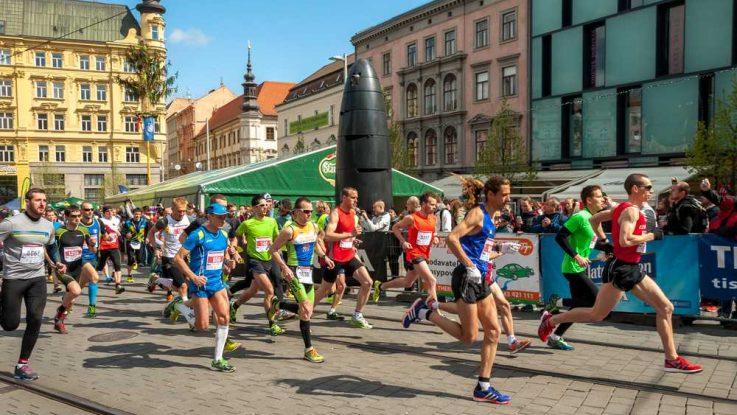 Kde běhat v Brně