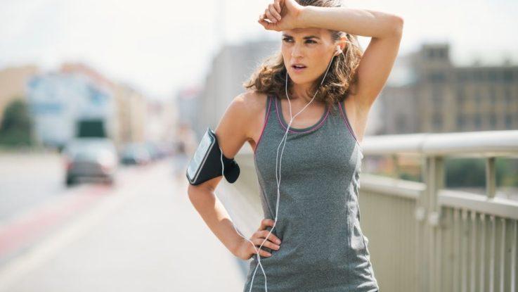Bolest při běhu