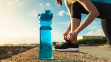 Pitný režim při běhání