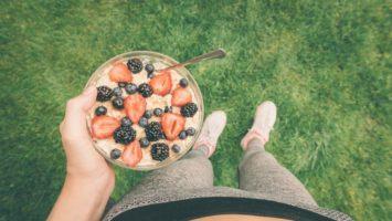 Co jíst před během