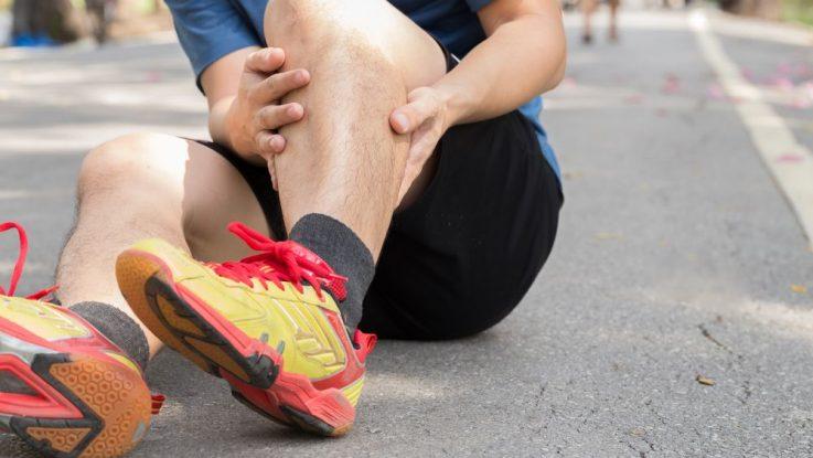 Bolest holení při běhu