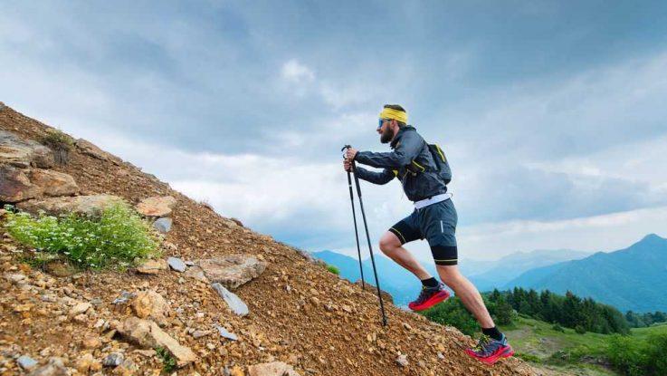 Běhání s holemi, nordic running