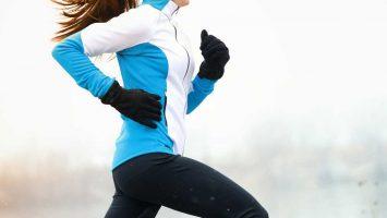 Běhání v mrazu