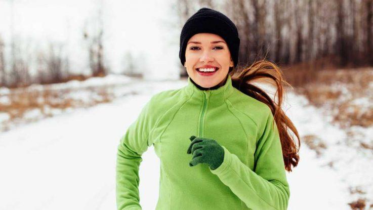 Jídelníček běžce v zimě a v létě