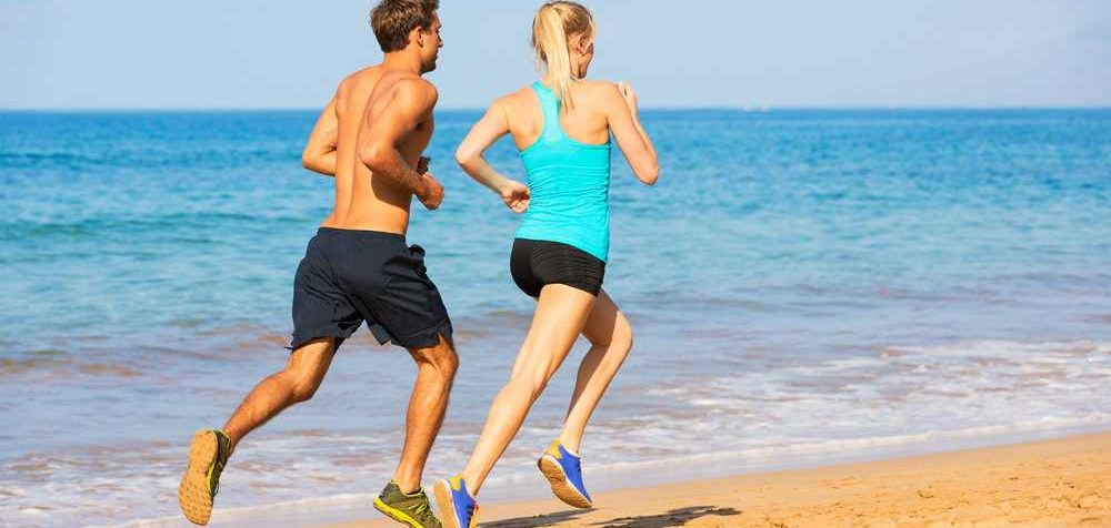 Jak běhat v písku