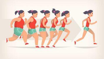 Hubnutí a běhání, spalování tuků