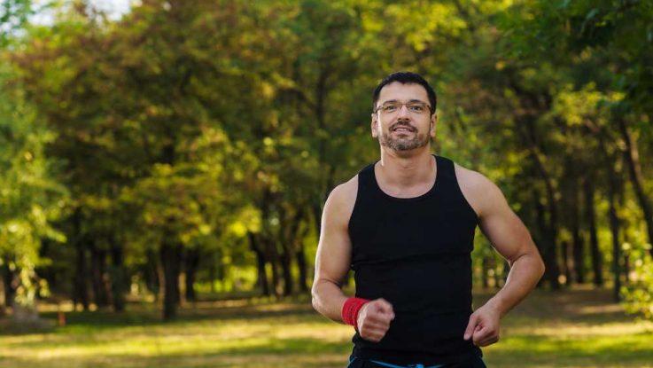 Běhání s brýlemi