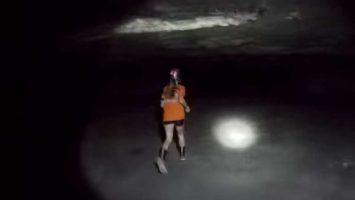 Běhání v dole Strataca Mine
