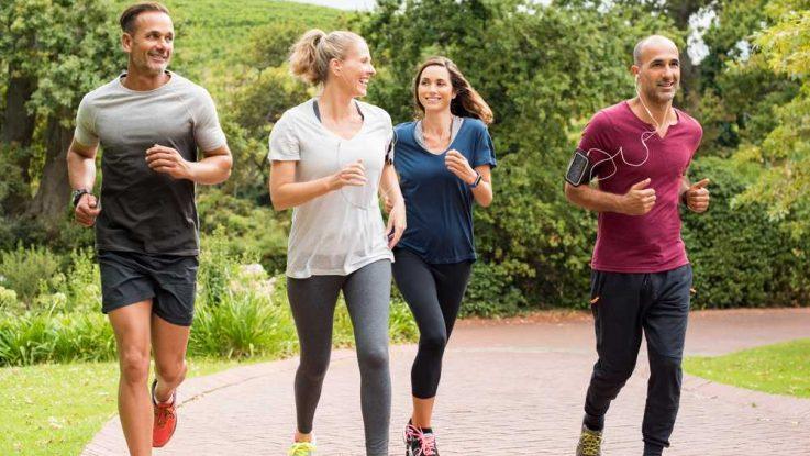 Správná technika joggingu