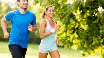 Jogging a hubnutí