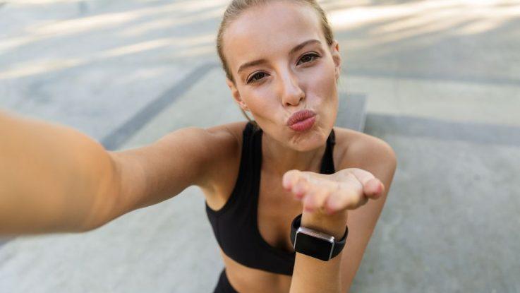 Líčení při běhání