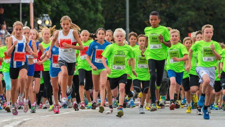 Běžecké závody pro děti