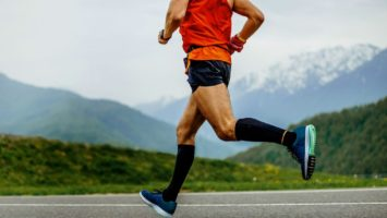Kompresní podkolenky na běhání