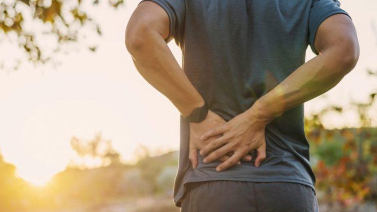 Bolest zad po běhu