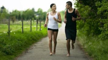 Bosé běhání