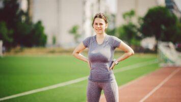 Velká prsa a běhání a sport