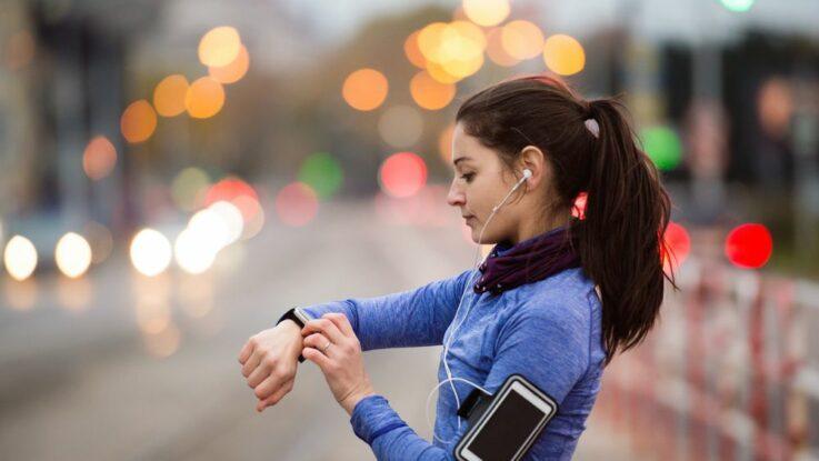 Běhání ve městě na znečištěném vzduchu