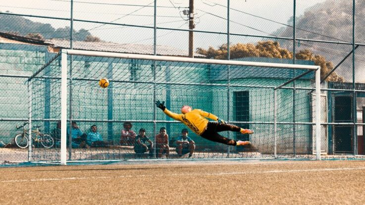 Vybavení na fotbal brankář