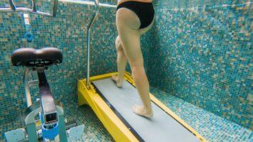 Běh ve vodě aquajogging