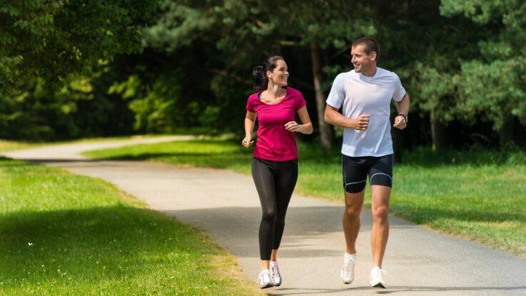 Jogging x běh