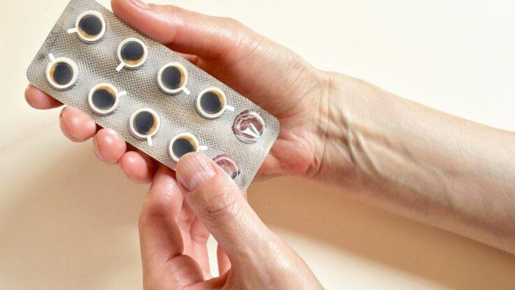 Kofeinové tablety pro sportovce