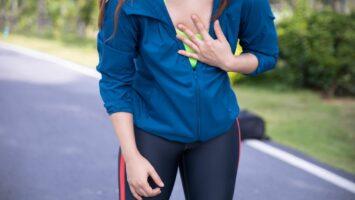 Odřené bradavky při běhu