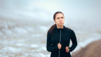 Únik moči při běhu
