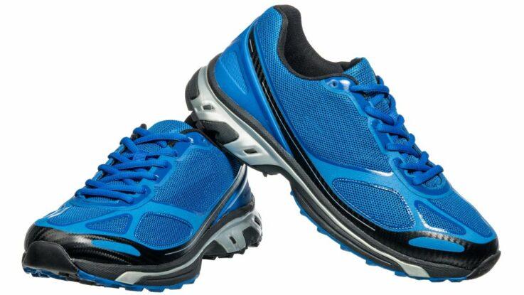 Běžecké boty a tkaničky