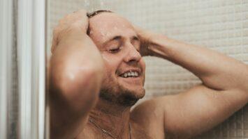 Sprcha po běhání